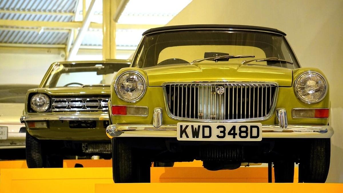 classic car example